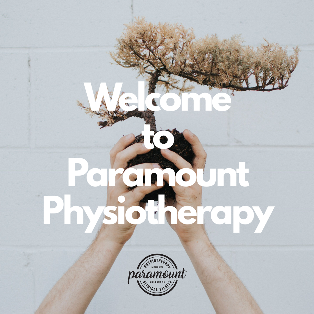 Welcome to Paramount Physiotherapy