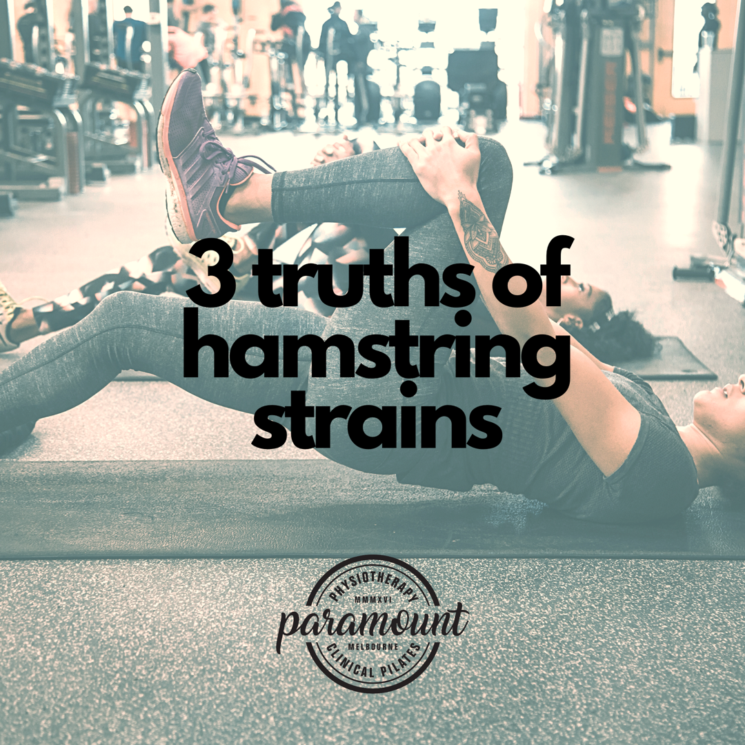 3 Truths Behind Hamstring Strains