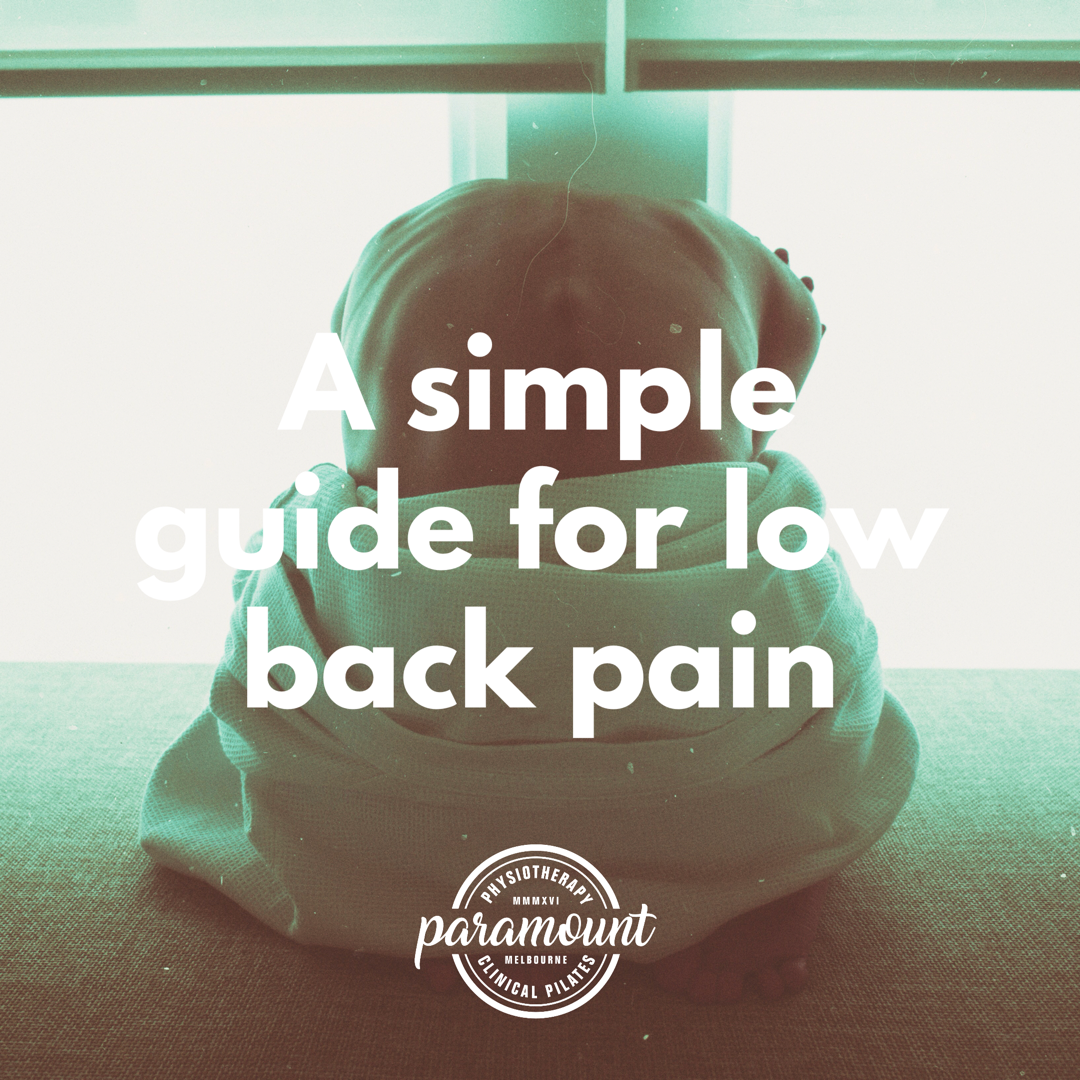 Simple Guide to Low Back Pain